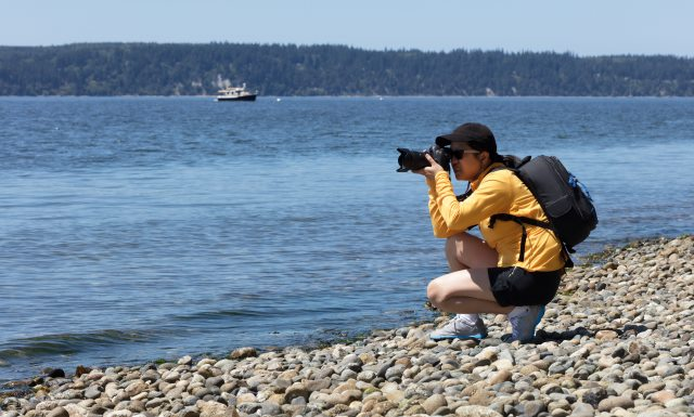 Photographing a Lake