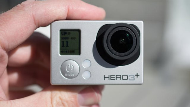 The GoPro Hero3+
